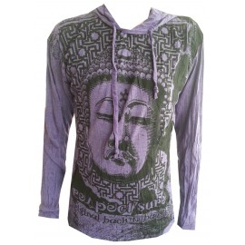 Buddha Star Meditation motif motif Man Hoodie Sure Brand Various size and color!