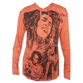 Bob Marley Smile motif Man Hoodie Sure Brand Various size and color!