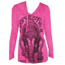 Ganesh Meditation Yoga motif Hoodie FREE SIZE (S-M) Various Color Sure Brand!