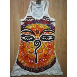 Egypt Faraoh  Eye Yoga Love tunic mini dress by Sure brand buy online