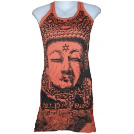 Buddha star motif tunic dress various color free size Sure brand