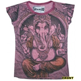 Ganesh beautiful woman t shirt from Weed brand FREE SIZE buy it now!