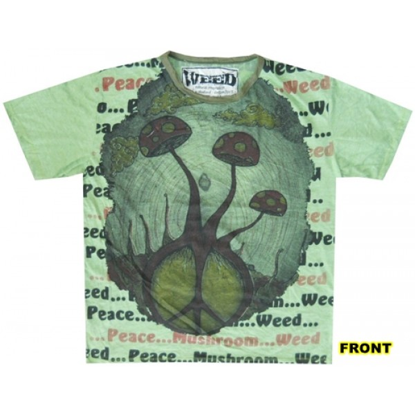 Mushroom magic Yoga Love Psy Peace T shirt Weed brand  buy now for best price online!