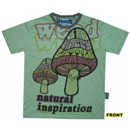Mushroom magic yoga Maya  attractive Weed brand t shirt buy here!