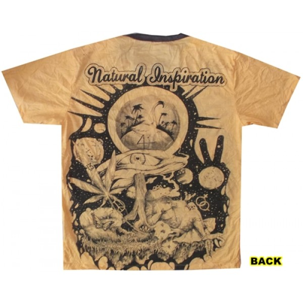 Natural Inspiration magic Mushroom yoga psy attractive Weed brand T shirt Thailand buy now!