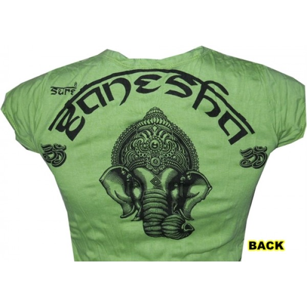 Ganesh head amazing and attractive woman T-Shirt FREE SIZE from Sure online buy!