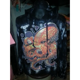 Buy Octopus Sea Nature motif Man Hoodie Sweater Sure Brand Cotton 100%!