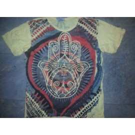 Ganesh Palm attractive men T shirt from Weed brand buy now